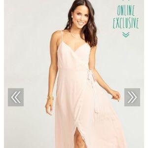 Mariah Wrap Dress Bridesmaid, Show Me Your Mumu